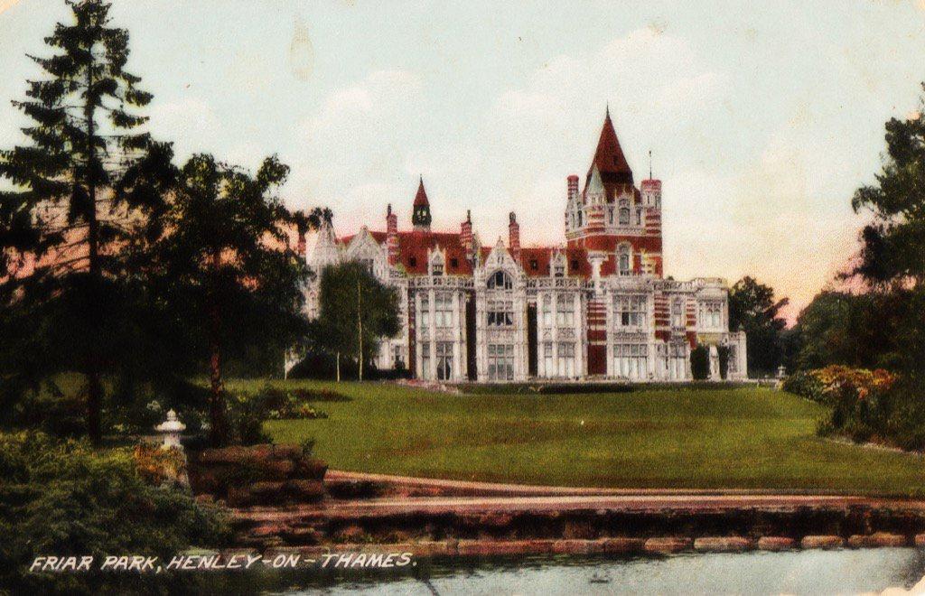friar park george harrison vintage postcard