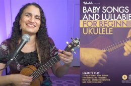 Diane Nalini Baby Songs Video Still with book cover