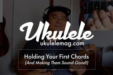 ukulele lesson first basic chords