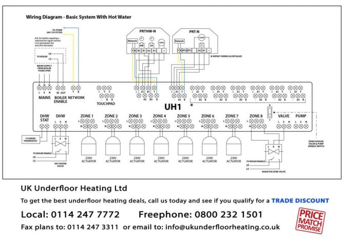 underfloor heating wiring schematic  gm hei wiring diagram