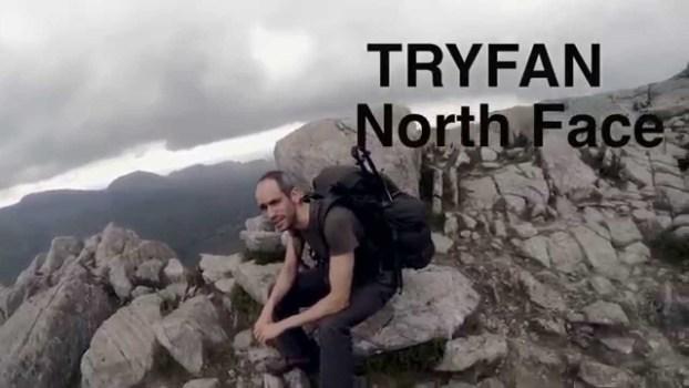 Wild Camp: Tryfan Snowdonia