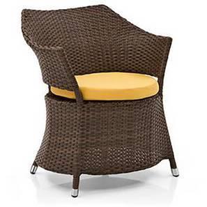 calabah patio armchair brown
