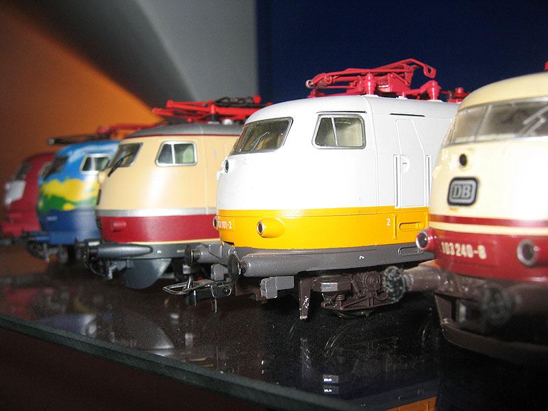 Uli's ganz private Modellbahn-Vitrine
