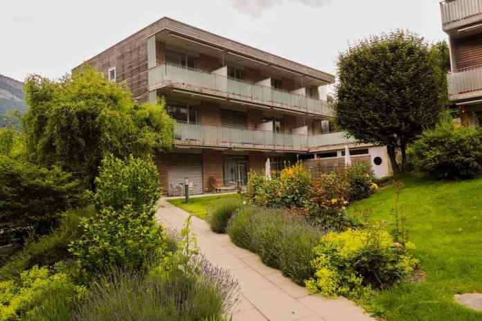 Das Plankis umfasst verschiedene Gebäude mit unterschiedlichen Funktionen. (Foto: Pierre Oettli)