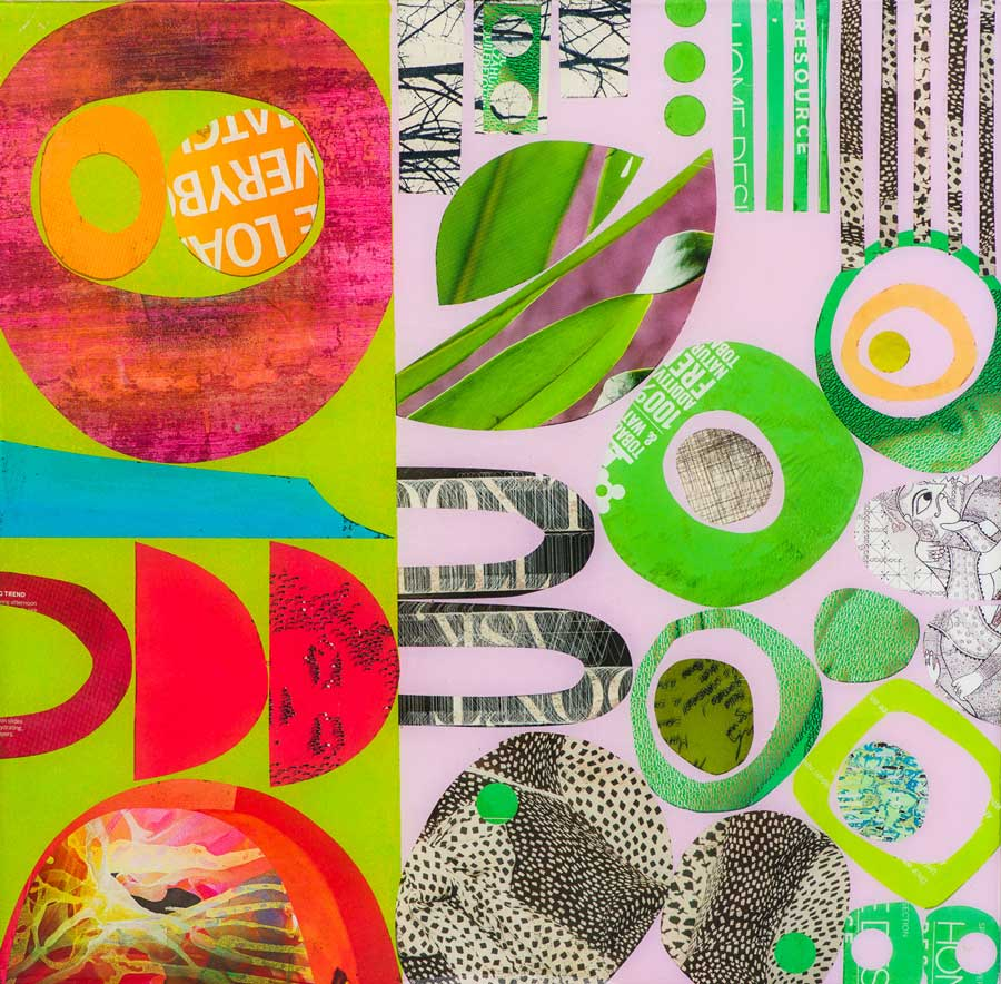 Collage No191 by Suzanne Currie