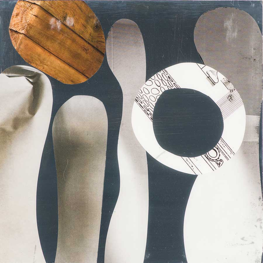 Collage No 251 by Suzanne Currie
