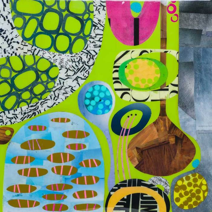 Collage No276 by Suzanne Currie