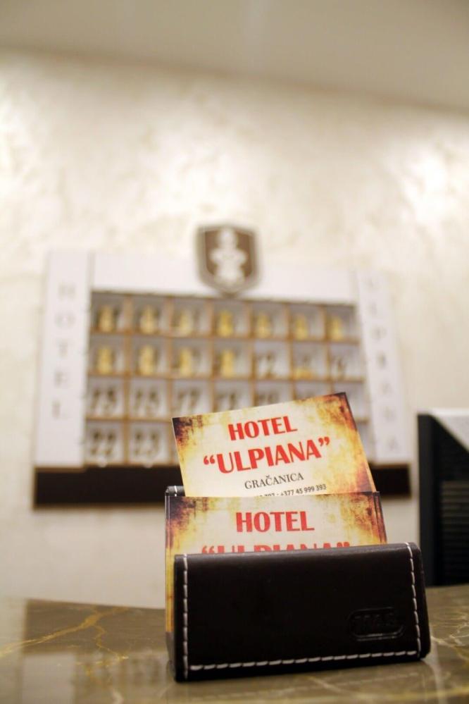 hotel-ulpiana-gracanica-reception-logo-rooms