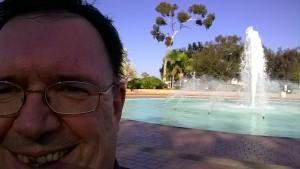 Am Brunnen im Balboa Park (c) Ulrich Pfaffenberger