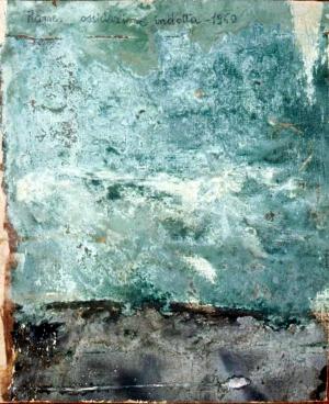 Verderame su tela, 1960