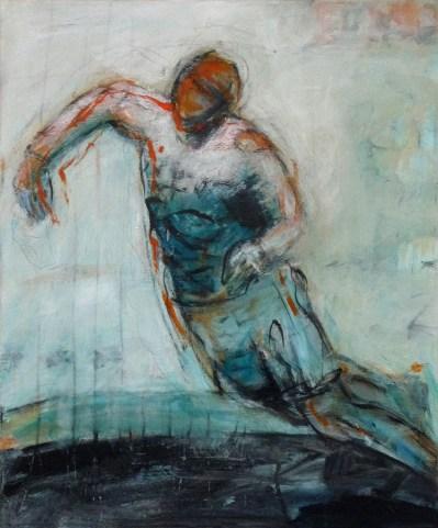 O.T. 08 | 2011 | Acryl auf Leinwand | 60 x 50 cm