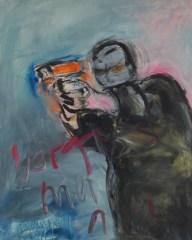 O.T. 04 | 2010 | Acryl auf Leinwand | 100 x 80 cm