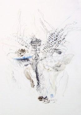 O.T. 02 | 2013/16 | Mischtechnik auf Papier | 52,2 x 80 cm