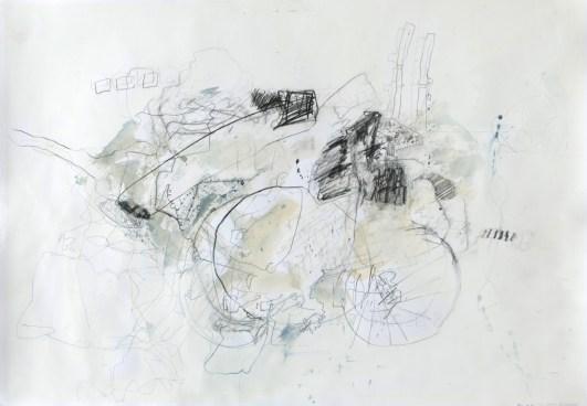 O.T. 04 | 2012 | Mischtechnik auf Papier | 42 x 59,4 cm