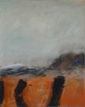 Sturm | 2008 | Acryl auf Leinwand | 100 x 80 cm