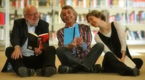Hanns Peter Zwißler, Martin Heberlein, Ulrike Schäfer. Foto: Matthias Lauerbach.