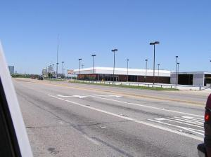 Another empty cars dealership