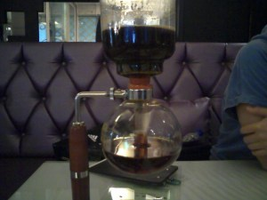 The siphon siphoning