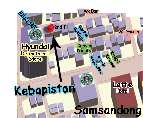 kebap map
