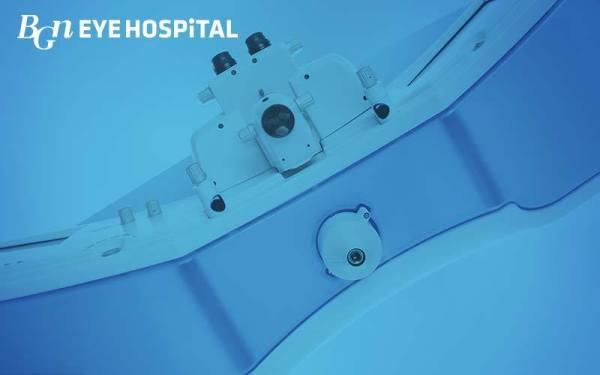 BGN Eye hospital's technology
