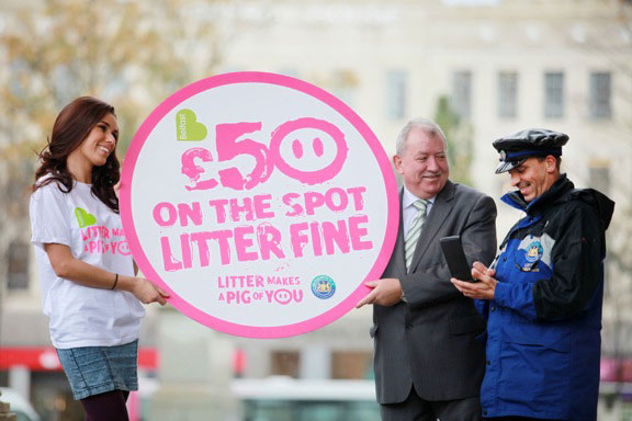 Belfast City Council Fights Back On Littering