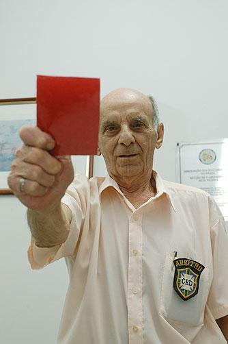 Gilberto Nahas, em 2008 (Crédito: Koldeway A.C.)
