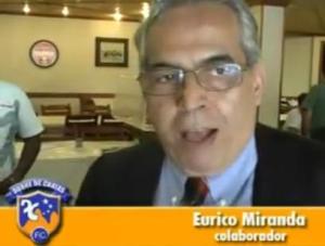 Eurico Miranda, em entrevista aos canais oficiais de comunicação do Duque de Caxias (Crédito: Reprodução)