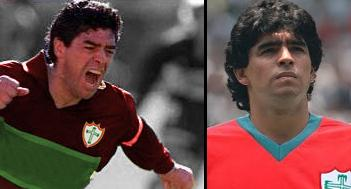 Torcedores sonhadores da Lusa fizeram montagem com Maradona