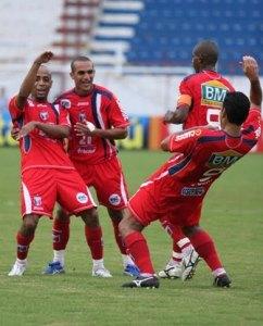 Guaratinguetá em 2010: de volta à Série A-2, acesso à elite paulista era considerado obrigação (Crédito: Futebol do Vale)