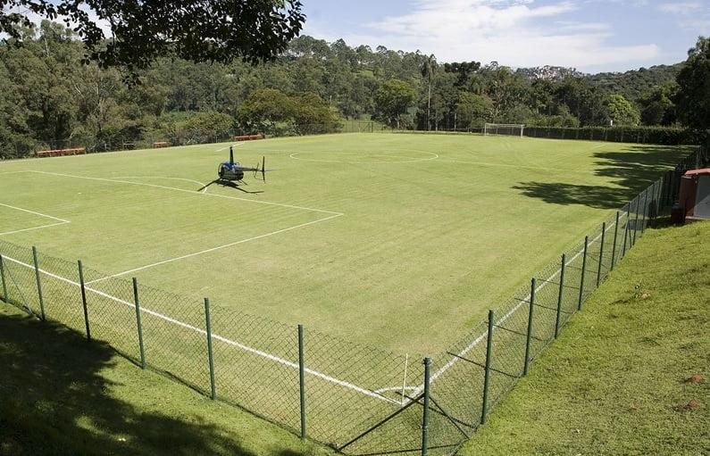 Campo da Guarapiranga (Crédito: São Paulo FC/Divulgação)