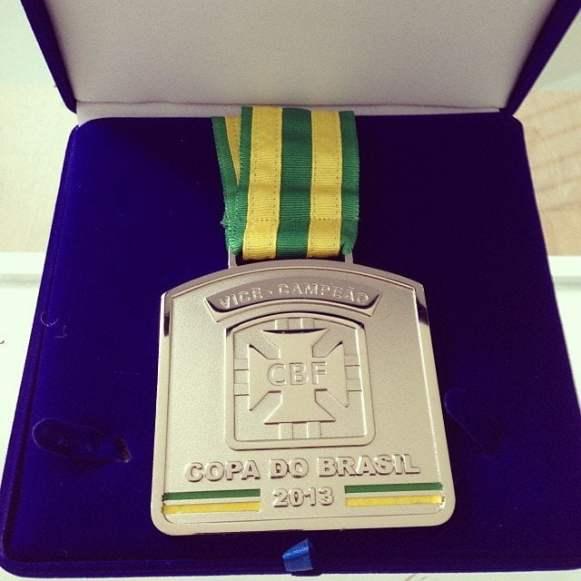 Foi vice da Copa do Brasil!