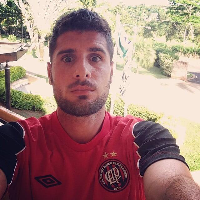 Em SJ do Rio Preto, terra do companheiro Dellatorre, tirou até uma 'selfie'!