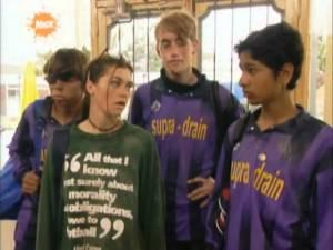 Da esquerda para a direita: Barry Grady, Robin Walker, Ben Phillips e Ronnie Supra