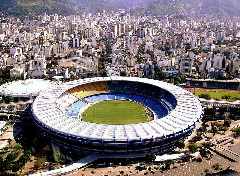 Maracanã, no Rio de Janeiro (RJ)