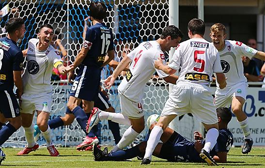 ASB Premiership, Round Eleven, Auckland City FC v Waitakere United