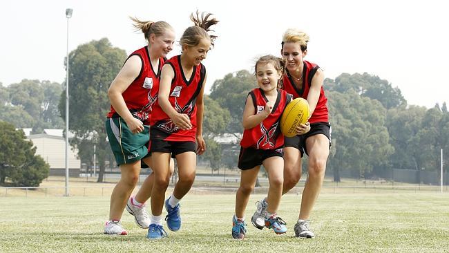 Uma paixão que começa desde cedo - e as meninas também estão nessa