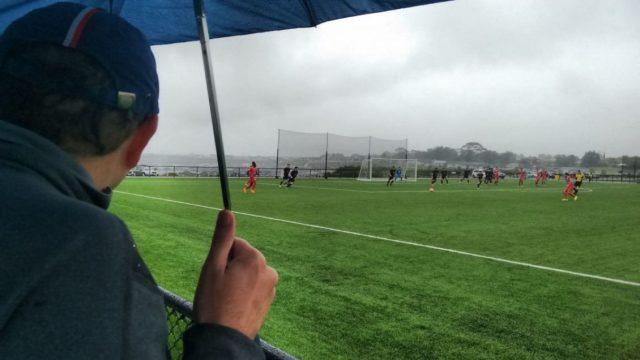 Sorte de quem levou guarda-chuva