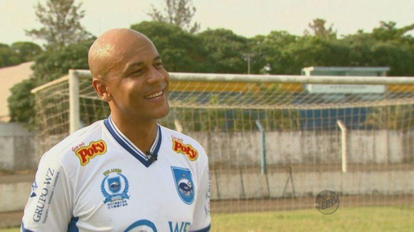 Alex Silva no Rio Claro