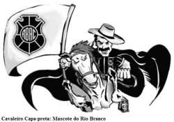 Mascote RIO BRANCO CAVALEIRO