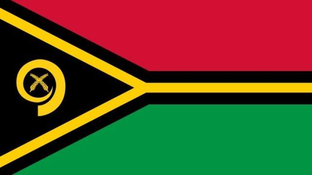 A bandeira de Vanuatu