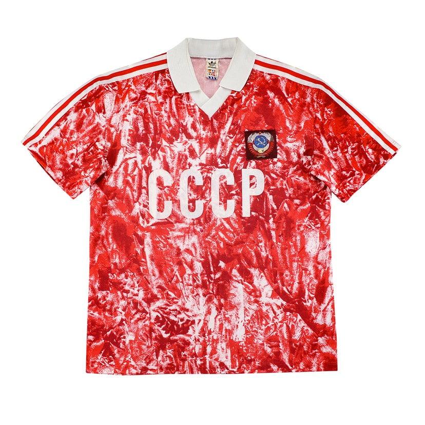 União Soviética (camisa titular, de 1989 a 1991): 449,99 libras (R$ 2949,10)