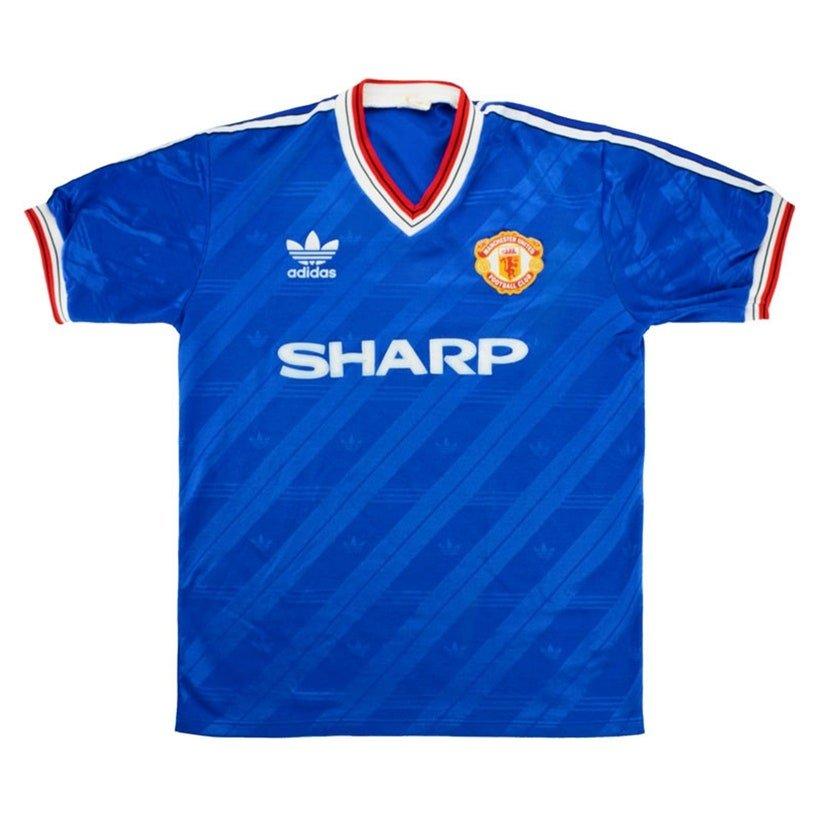 Manchester United (terceira camisa, de 1986 a 1988): 449,99 libras (R$ 2949,10)