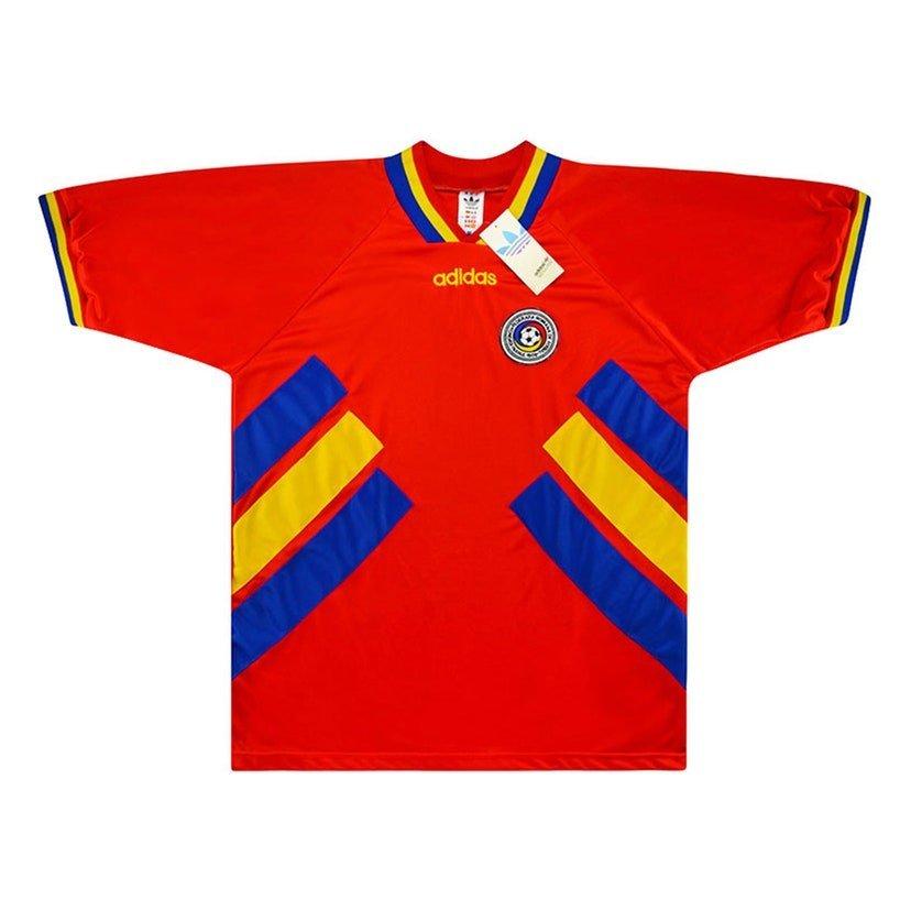 Romênia (camisa reserva, de 1994): 399,99 libras (R$ 2621,41)