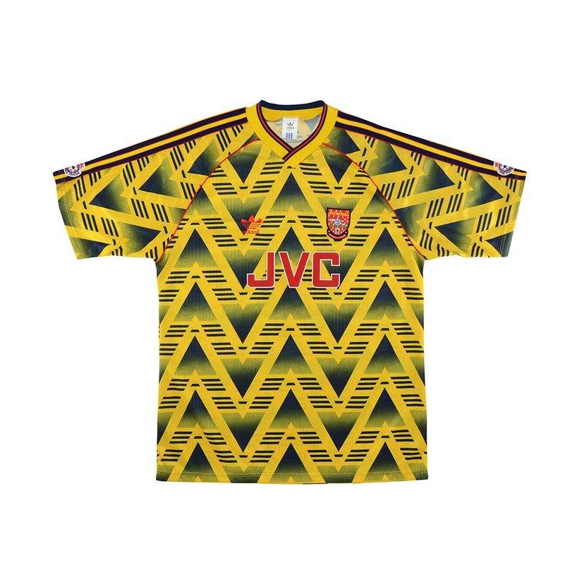 Arsenal (camisa reserva, de 1991 a 1993): 374,99 libras (R$ 2457,57)