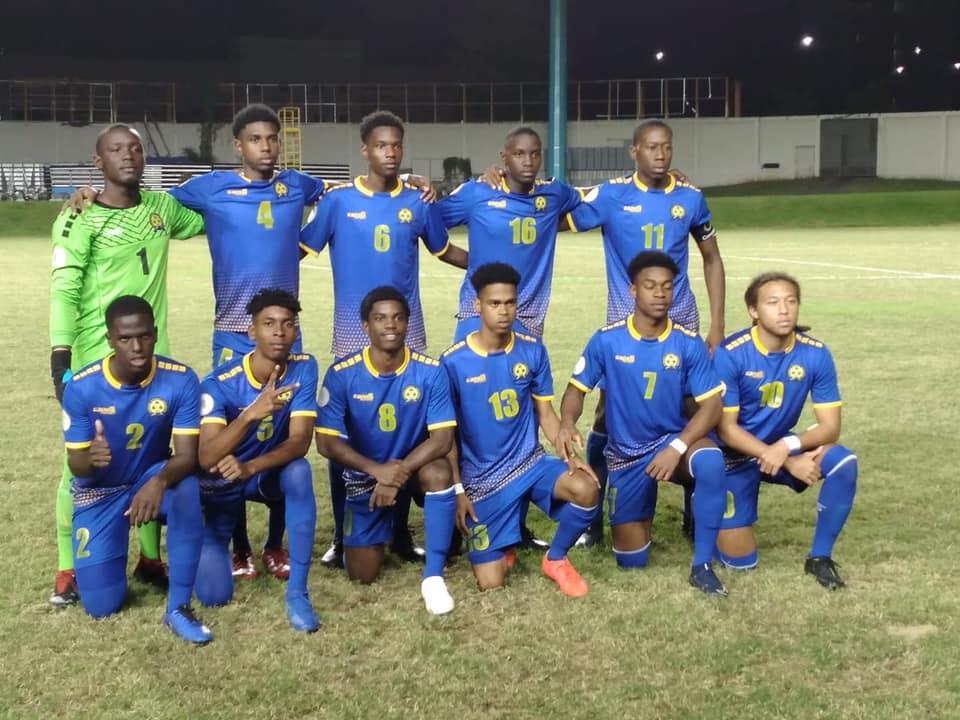 Jogadores De Barbados Que Ajudaram O País A Avançar No Torneio Sub 20 Foto Bfa