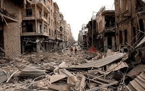 distruzioni siria