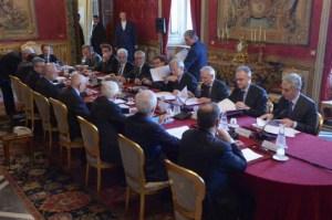 Napolitano incontra i dieci saggi