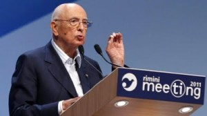 Napolitano Meeting Rimini 2011