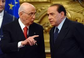 Napolitano Berlusconi