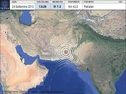 cartina terremoto beluchistan